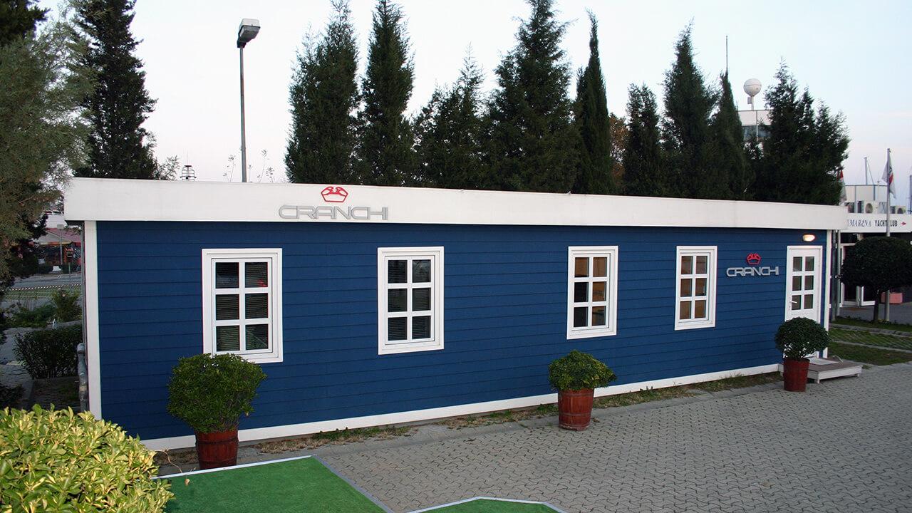137 m2 Santiye ve Ofis Yapıları