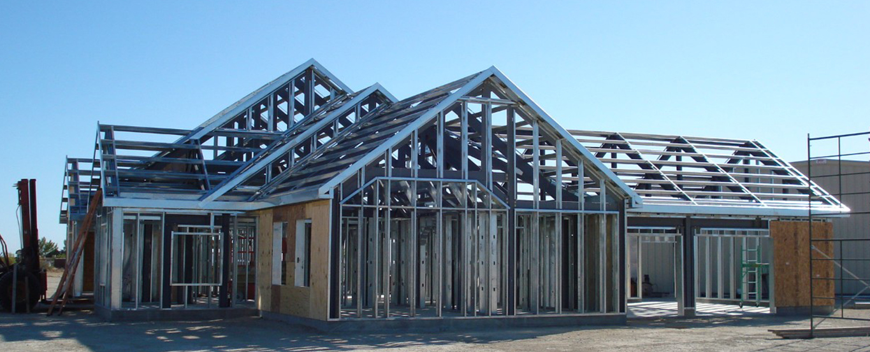 Çelik Ev, Kaynaksız, vidalı teknoloji, deprem bölgesi, Betonarme, çelik yapılar