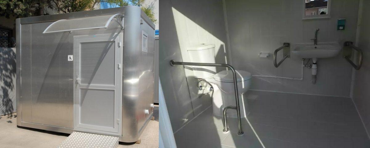 Engelli WC kabinleri & Engelli Duş kabinleri | lokantalar, oteller, tiyatrolar, doktor muayenehaneleri, eczaneler, perakende satış