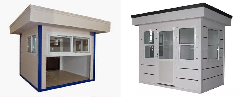 Satış Kabinleri & Büfe Kabinleri. Çelik karkas ve Sandviç Panel sistem detayları